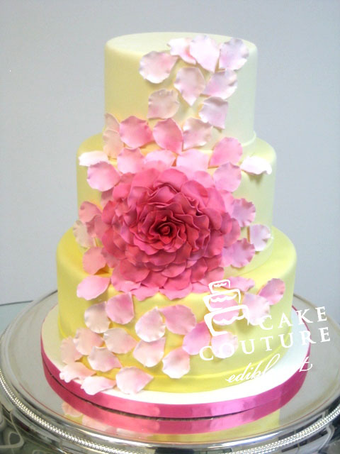 Edible Art Cake Recipe : Cake Couture - edible art - Wedding Gallery