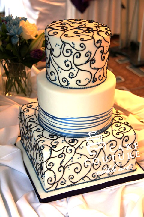 Edible Art Cake Recipe : Cake Couture - edible art - Wedding Gallery II